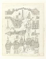 view Design for wallpaper: Views of Paris digital asset number 1