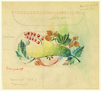 view Design for a Bowl with Enamel Cover digital asset number 1