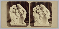 """view Stereograph: Group, """"Uncle Toby and Widow Madam"""" digital asset number 1"""