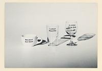 view Restaurant Florent: Coffee cup, water glass, wineglass digital asset number 1