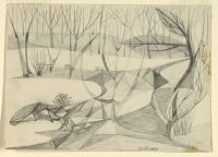 view Landscape Abstractions (Scene in a Park) digital asset number 1