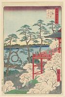 view Yamashita Quarter, Ueno (Ueno Yamashita) From the Series One hundred Views of Edo digital asset number 1