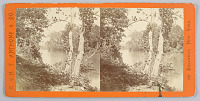 view Stereograph: French Broad River digital asset number 1