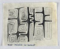view Textile Design: Trees on Burlap digital asset number 1
