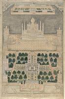 view Bird's Eye View of the Taj Mahal at Agra digital asset number 1