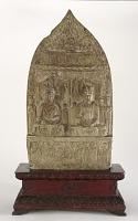 view Buddhist stele depicting debate between Weimo and Wenshu digital asset number 1