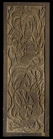 view Panel with low-relief carving of Buddhist <i>apsaras</i> digital asset number 1