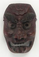 view Demon mask digital asset number 1