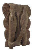 view Lower part of a Nagaraja (Serpent King) image digital asset number 1