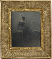 view A Lady Playing the Violoncello digital asset number 1