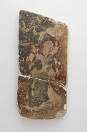 view Fragment of a wall painting showing a seated princess (forgery) digital asset number 1