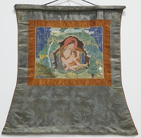 view Mahasiddha Luipa, from a partial set of thangkas digital asset number 1