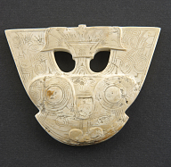 view Pendant with mask digital asset number 1