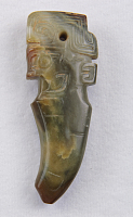 view Pendant with anthropomorphic head digital asset number 1