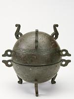 view Vessel (ding) with lid digital asset number 1