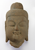 view Head from a figure of the Buddha digital asset number 1