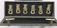 view Set of six belt pendants digital asset number 1