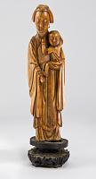 view Bodhisattva Avalokiteshvara (Guanyin) with a child digital asset number 1