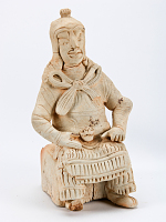 view Figure of a seated soldier digital asset number 1
