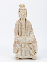 view Figure of a seated woman digital asset number 1