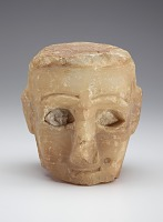 view Male head, fragment digital asset number 1