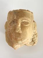 view Female head, fragment digital asset number 1