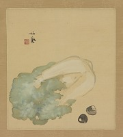 view Cabbage and clams (corbicula) digital asset number 1