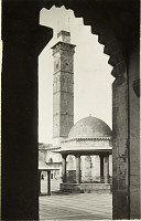view Gr. Mosque. Eastern wing of courtyard. Corpus, p1.LIVa digital asset: Aleppo (Syria) Great Mosque Eastern wing of courtyard. [graphic]