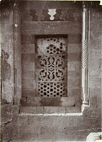 view Window of Turbat al-Djadala (?). Photo, Oppenheim. Corpus, p1.CLIVc digital asset: Window of Turbat al-Djadala, Photo, Oppenheim. [graphic]