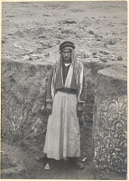 view Excavation of Samarra (Iraq): Arab Foreman, Member of Herzfeld's Crew of Workers [graphic] digital asset number 1
