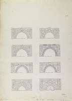 view D-13: Aleppo (Syria), Damascus (Syria), and Konia (Turkey): Eight Interlaced Arches digital asset: Aleppo (Syria), Damascus (Syria), and Konia (Turkey): Eight Interlaced Arches [drawing]