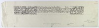 view D-156: Baalbek. Inscription of Nur al-din. Kufic.Corpus, pl.LXXVIId digital asset: Baalbek (Lebanon): Fortified Walls of the Citadel: Transcription of Arabic Inscription No. I, in Kufic Script [drawing]