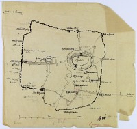 view D-282: Aleppo (Syria): Plan of the City with Gates and Major Monuments digital asset: Aleppo (Syria): Plan of the City with Gates and Major Monuments [drawing]