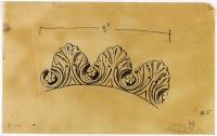 view D-319: Damascus, Salihiya, Djami' al-Hanabila. Acanthi.SA-IV, fig.5 digital asset: Damascus (Syria): Muzaffari Mosque: Acanthi, Vegetal Ornament [drawing]