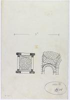 view D-333: Ladhakiya. Pyramidal pendentives.SA-II, fig.26 digital asset: Ladhakiya (Syria): Pyramidal Pendentives [drawing]