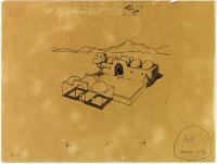 view D-341a: Khunik (Iran): Shusp: Sketch of Unidentified Building digital asset: Khunik (Iran): Shusp: Sketch of Unidentified Building, [drawing]
