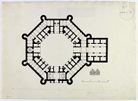 view D-345: Dehbid. Khan-i Khurra.SA-II, fig.3 digital asset: Dehbid (Iran), Khan-i Khurra: Ground Plan, [drawing]