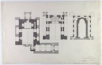 view D-366: Linjan District (Iran): Pir-i Bakran Mausoleum: Ground Plan digital asset: Linjan District (Iran): Pir-i Bakran Mausoleum: Ground Plan [drawing]