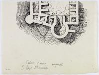 """view D-391: Kelat-i Abazar.plan. SE Khurasan. Marked """"Unpubl."""" digital asset: Kelat-i Abazar (Iran): Fortress: Ground Plan [drawing]"""