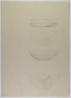 view D-663: Luristan, bronze bowl.AMI, vol.VII, figs. 1--2 digital asset: Luristan (Iran): Bronze Libation Vessels [drawing]