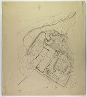 view D-698: Khurha (Iran): Topographical Plan around Temple digital asset: Khurha (Iran): Topographical Plan around Temple [drawing]