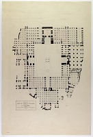 view D-704: Isfahan (Iran): Friday Mosque: Ground Plan, Drawn by Eric Schroeder digital asset: Isfahan (Iran): Friday Mosque: Ground Plan, Drawn by Eric Schroeder, [drawing]