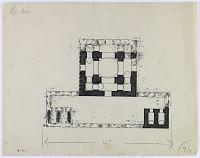 view D-721: Gira District (Iran): Fire Temple Car-taq: Ground Plan digital asset: Gira District (Iran): Fire Temple Car-taq: Ground Plan [drawing]