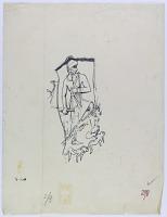 view D-774: Sarpul. Annubinini.IAE, fig.298 digital asset: Sarpul (Iran): Rock Reliefs Depicting Annubanini Standing over Slain Enemies [drawing]
