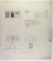 view D-776: Sahna (Iran): Rock-Cut Tomb: Ground Plan, Section and Elevation digital asset: Sahna (Iran): Rock-Cut Tomb: Ground Plan, Section and Elevation [drawing]