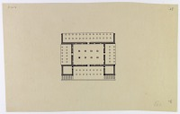 view Excavation of Pasargadae (Iran): Palace 'S': Ground Plan (Reconstruction) [drawing] digital asset number 1