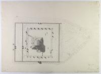 view D-808: Excavation of Pasargadae (Iran): Mashhad-i-Madar-i-Suleiman at Mausoleum of Cyrus the Great: Ground Plan digital asset: Excavation of Pasargadae (Iran): Mashhad-i-Madar-i-Suleiman at Mausoleum of Cyrus the Great: Ground Plan [drawing]