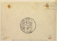 view D-978: Kushano-Sassanid Coins minted by Peroz, Son of Ardashir digital asset: Kushano-Sassanid Coins minted by Peroz, Son of Ardashir [drawing]