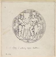 view D-979: Kushano-Sassanid Coins minted by Peroz, Son of Ardashir digital asset: Kushano-Sassanid Coins minted by Peroz, Son of Ardashir [drawing]