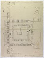 view D-1062: Excavation of Samarra (Iraq): Shiite Shrine Complex, Shrine of Imam al-Hadi: Sketch Plan and Arabic Annotations digital asset: Excavation of Samarra (Iraq): Shiite Shrine Complex, Shrine of Imam al-Hadi: Sketch Plan and Arabic Annotations [drawing]